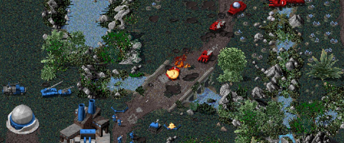 Command and Conquer 1995 Battle