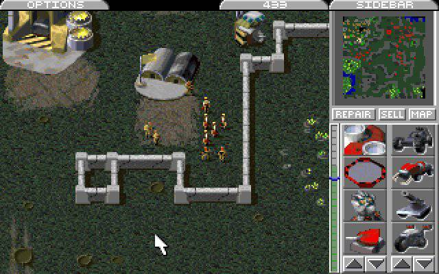 Command and Conquer 1995 Development Soldiers