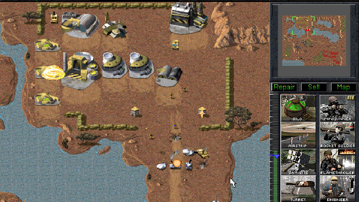 Command and Conquer 1995 Sand