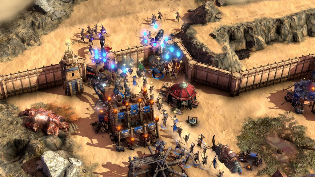 Conan Unconquered RTS Command and Conquer Gameplay