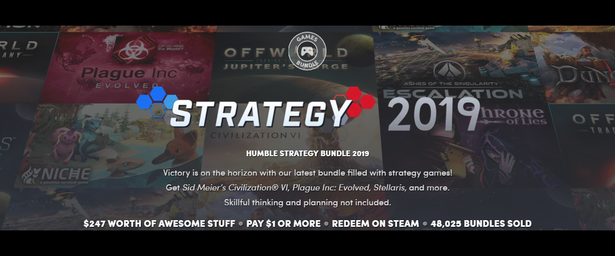 Humble Bundle Strategy Games RTS