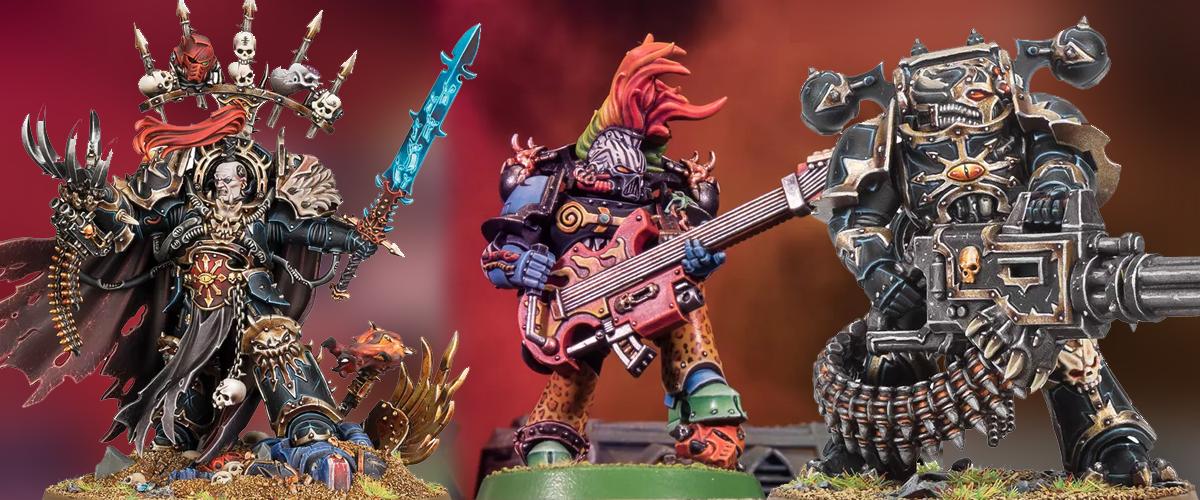 Games Workshop Warhammer 40K Abaddon The Despoiler Chaos Space Marines