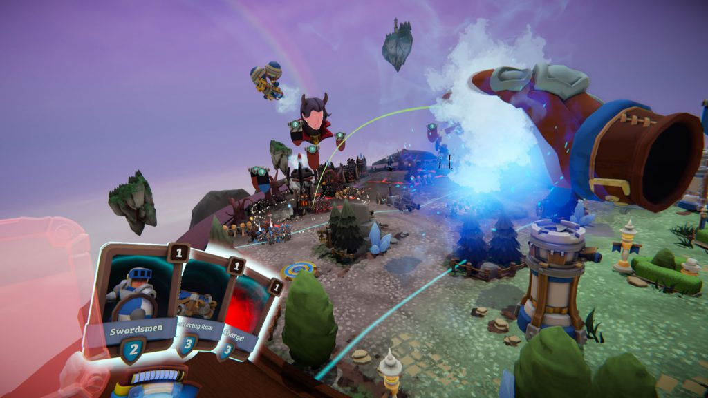 Skyworld VR RTS PlayStation multiplayer