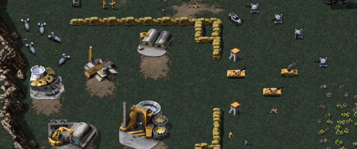 command and conquer remastered gameplay footage