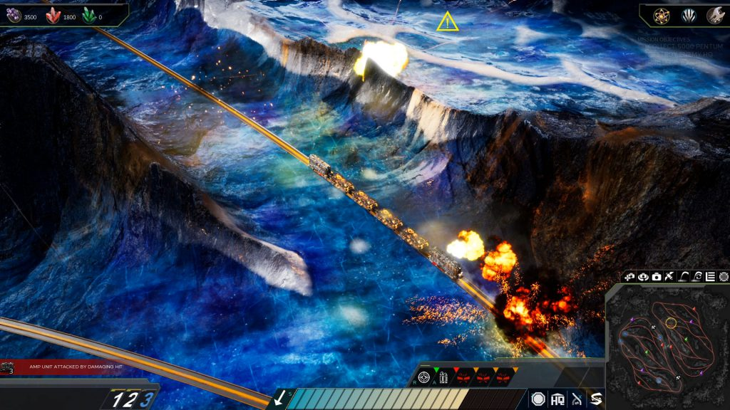 Miners mettle rts rails shooter