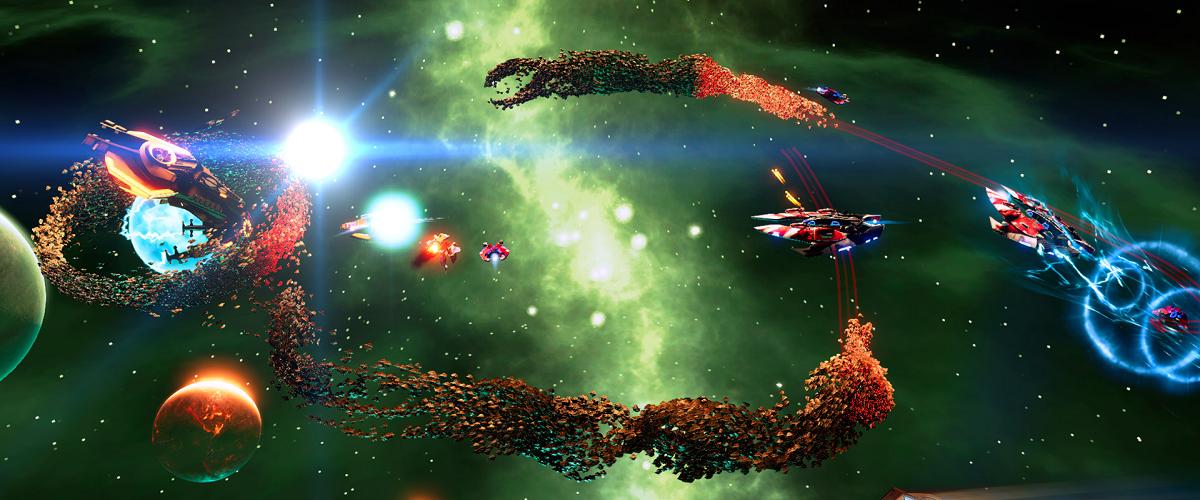 Drone Swarm RTS sci fi game