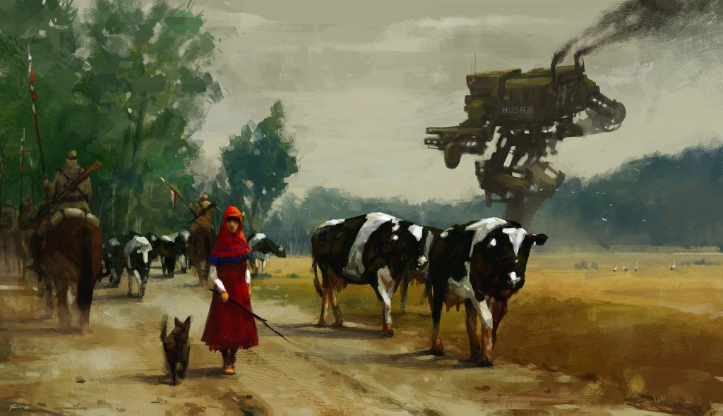 Iron Harvest Dieselpunk RTS Lore Origin World of 1920 Painting