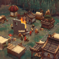 against the Storm eremite games rts city builder rain roguelite demo download